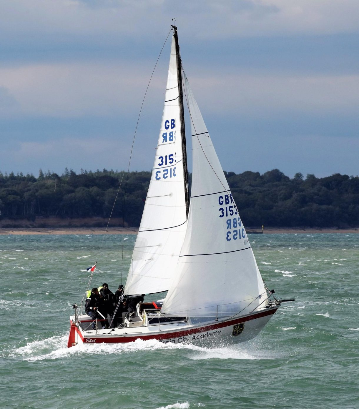 Riot from the scaramouche sailing trust
