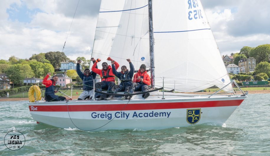 Riot from Grieg City Academy completes Isle of Wight Circumnavigation