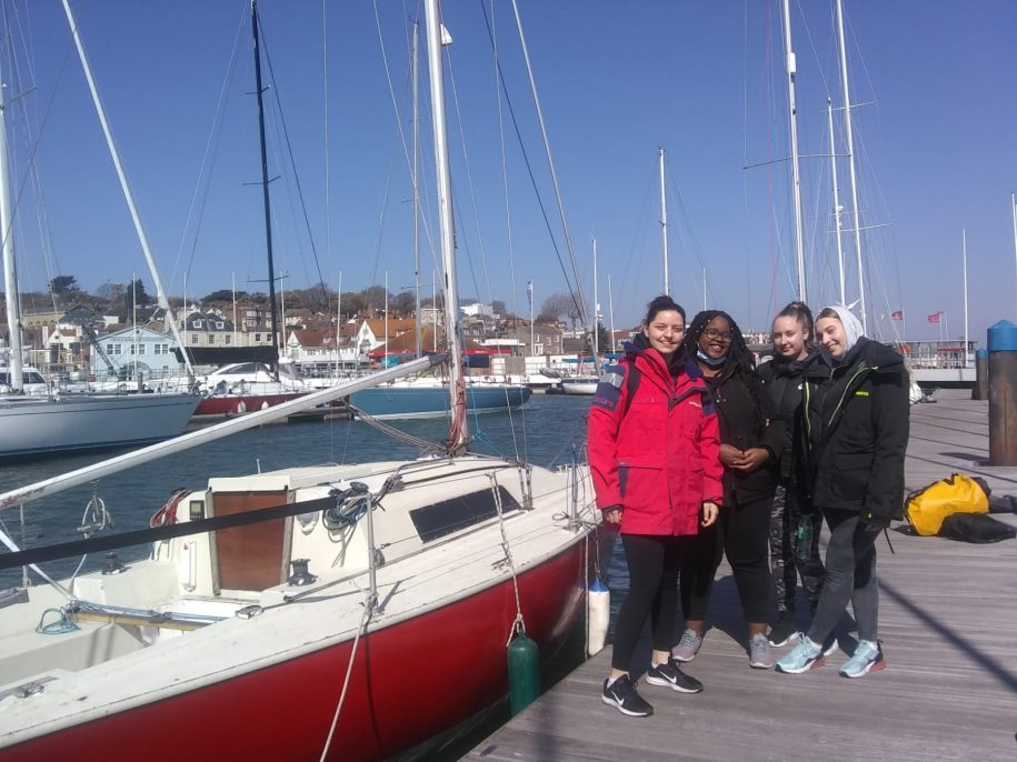 Scaramouche Sailing Trust Girls Take To The Water in 2021