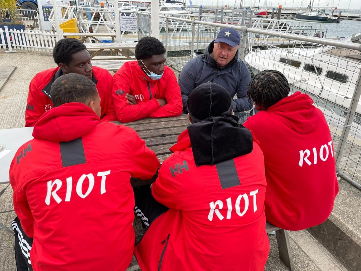 Riot looking to set IRC Record Isle of Wight time